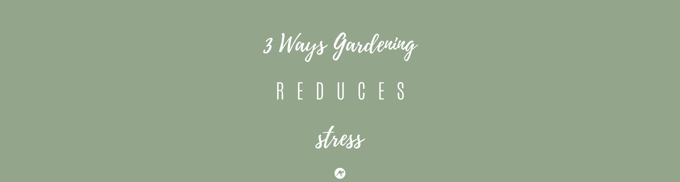 3 ways gardening reduces stress